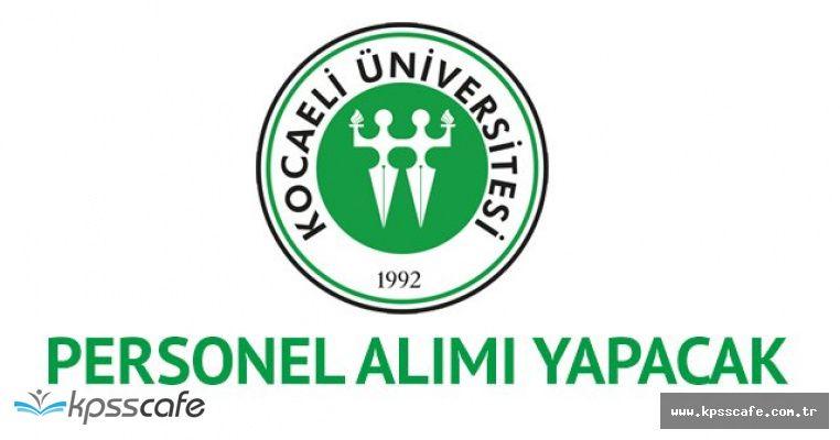 Kocaeli Üniversitesi'ne Avukat Alımı Yapılacak