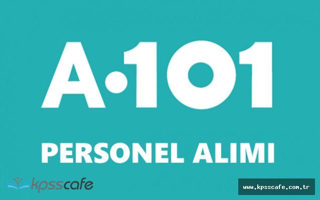A101 Resmi Sitesinden Personel Alımı Yapıyor (En Az İlköğretim Mezunu)