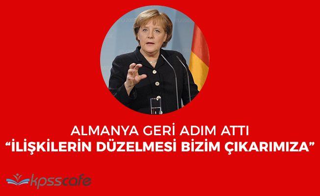 """Almanya Geri Adım Attı: """"Türkiye ile ilişkilerin iyi olması bizim yararımıza"""""""