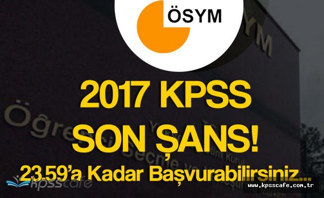Memur Adayları Dikkat! KPSS Geç Başvuru İşlemleri Başladı !
