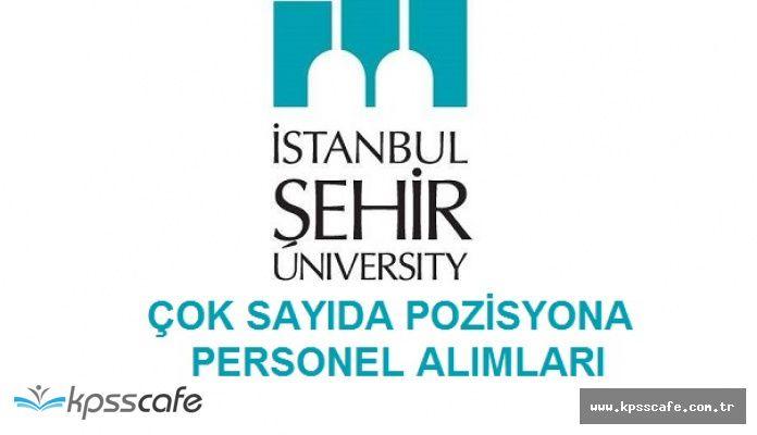 İstanbul Şehir Üniversitesi Çok Sayıda Pozisyonuna Personel Alımı Yapacak