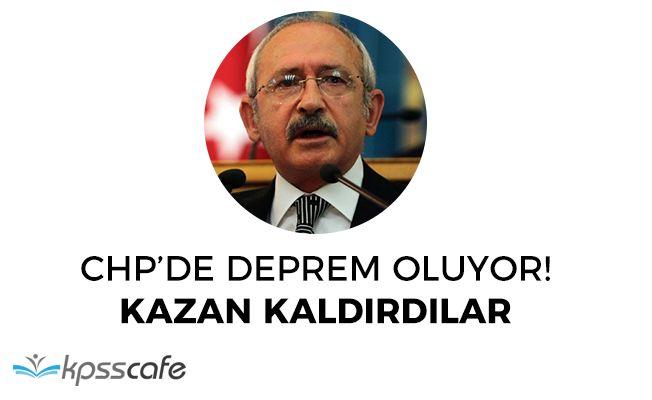 CHP' de Deprem Oluyor! Kılıçdaroğluna Diktatör Diyerek Kazan Kaldırdılar