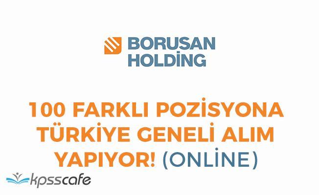 BORUSAN 100 Farklı Pozisyonuna Türkiye Geneli Personel Alımı Yapıyor!