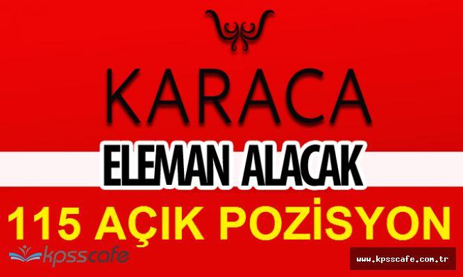 KARACA 115 Pozisyonuna Türkiye Geneli Personel Alımı Yapacak