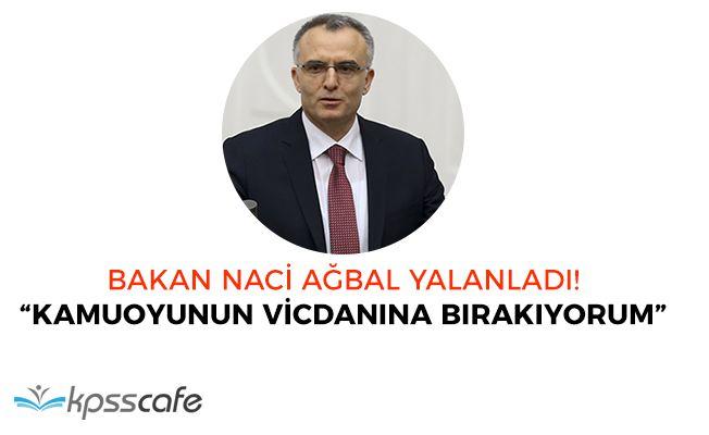 Maliye Bakanı Ağbal 'Yandaşa Kıyak' İsimli Haberlere Yönelik Açıklama Yaptı! Kesinlikle Yalan