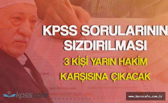 KPSS Sorularının Sızdırılması Davasında 3 Kişi Yarın Mahkemeye Çıkıyor