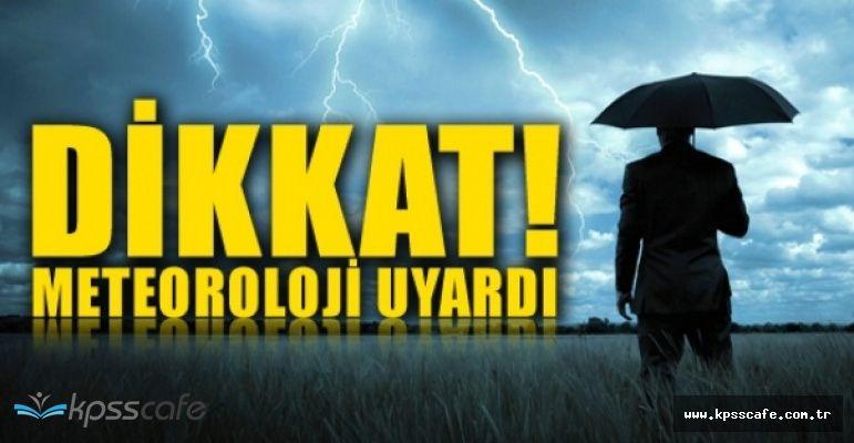 Meteoroloji'den Büyük Uyarı! Sel ve Fırtına Tehlikesi Devam Ediyor