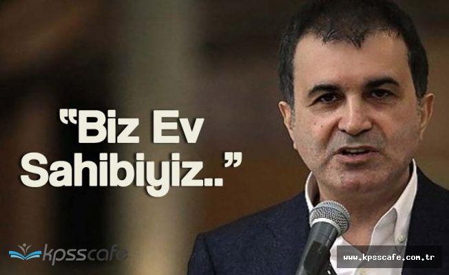 """AB Bakanı Çelik: """" Avrupa Konseyi Bizim Evimiz, Biz Ev Sahibiyiz"""""""