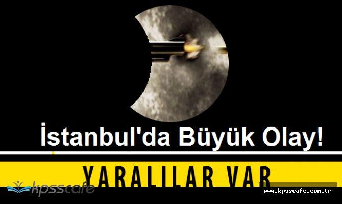 İstanbul'da Pompalı Tüfekle Saldırı! Dehşet Anlarında Yaralananlar Var