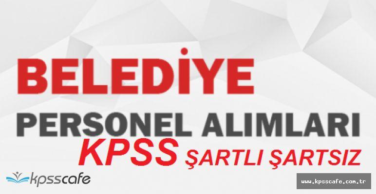Çevreli Belediyesi KPSS Şartlı Şartsız Daimi Personel Alımları Yapıyor
