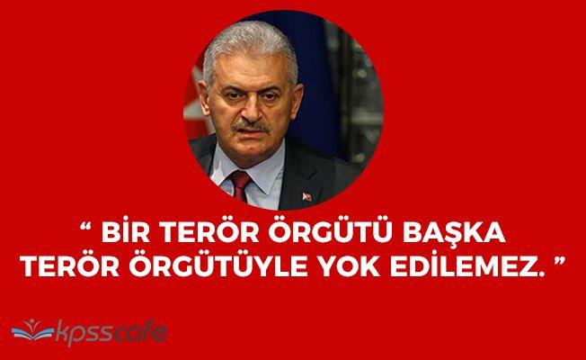 Başbakan Yıldırımdan Tüm Terör Örgütleri 'Türkiye İçin Aynıdır' Açıklaması
