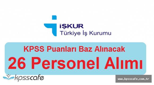 İkmal Bakım Merkezi Komutanlığı KPSS Puanları ile 26 Personel Alımı Sona Eriyor