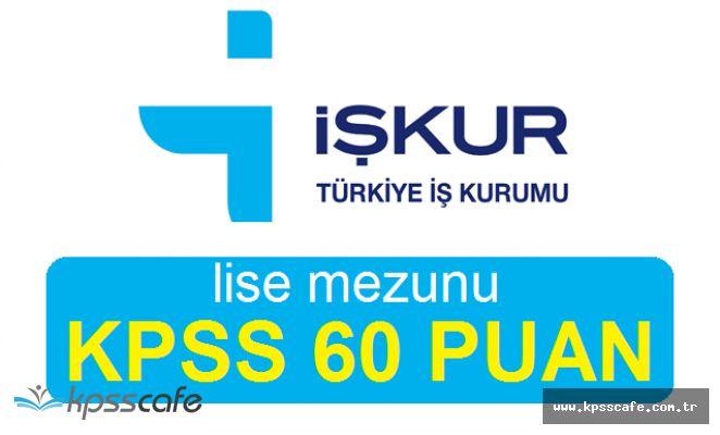 Horasan Belediye Başkanlığı Lise Mezunu Personel Alımlarında Son Gün! (KPSS 60 Puan ile)