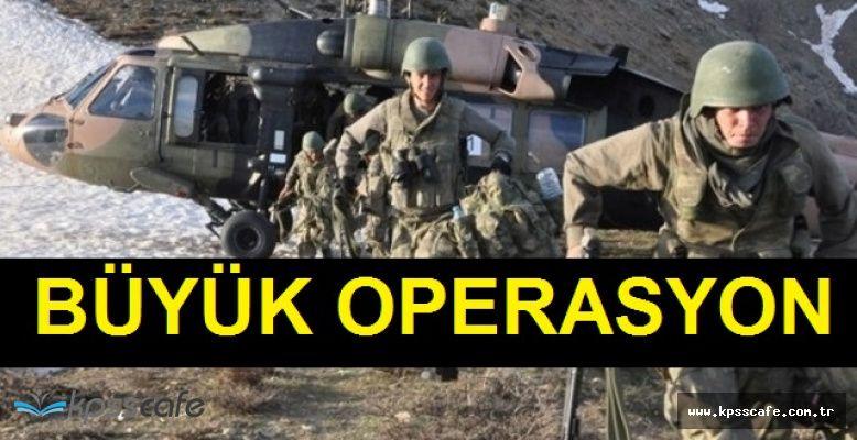 TSK Açıkladı! Hakkari'de Büyük Operasyon