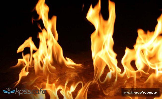 Benzin İstasyonunda Yangın! Büyük Bir Facia Yaşanabilirdi