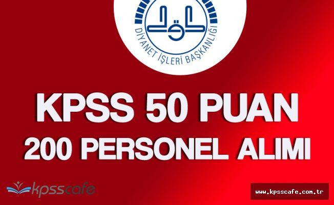 DİB Ankara İl Müftülüğü 200 Personel Alımı Başvuruları Başladı
