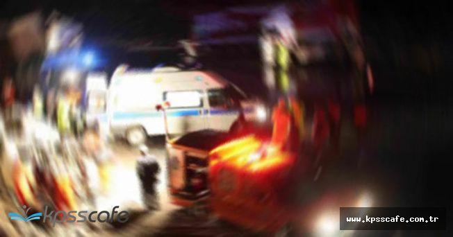 Çorum'da Can Pazarı! Öğrenci Servisi Takla Attı Ağır Yaralılar Var