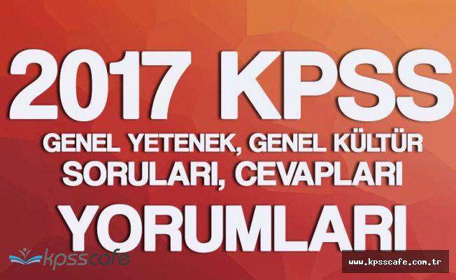 21 Mayıs KPSS Genel Yetenek, Genel Kültür Soruları , Cevapları ( Sınav Kolay Mıydı?, Zor Muydu?)