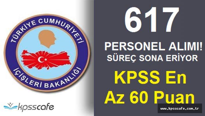 KPSS En Az 60 Puanla 617 Personel Alımında Son Gün Heyecanı! Başvurular Bitiyor