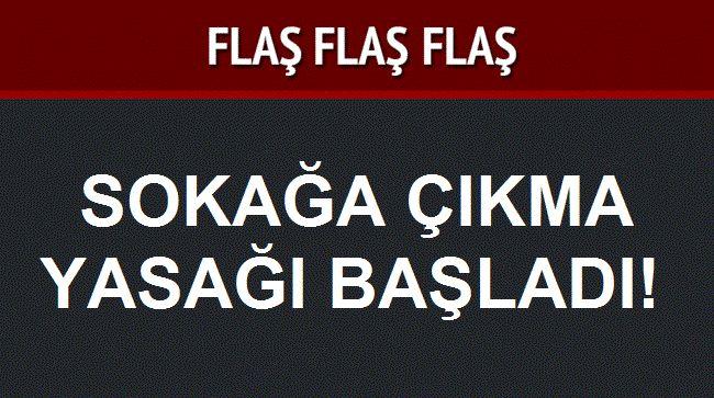 4 Köyde Sokağa Çıkma Yasağı İlan Edildi!