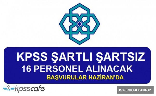 Kalkınma Ajansı 16 Personel Alım İlanı DPB'de Yayımlandı! KPSS ŞARTLI ŞARTSIZ