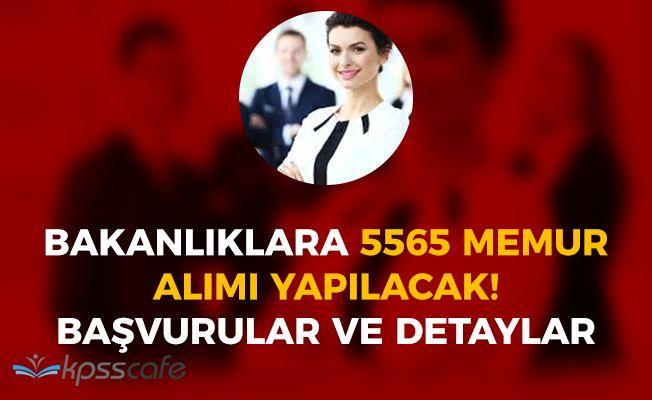 Bakanlıklara 5560 Memur Personel Alımı Yapılacak! Başvurular ve Detaylar