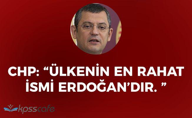 """CHP: """"Görünen o ki AK Parti'de işler yolunda gitmiyor"""""""