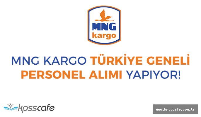 MNG KARGO Türkiye Geneli Personel Alımları! Anında Başvuru