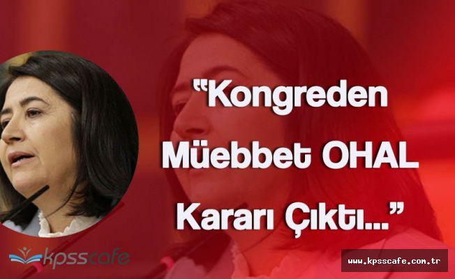 HDP'nin Yeni Eş Genel Başkanı İlk Defa Kürsüye Çıktı