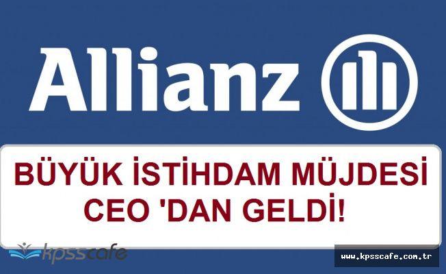 Allianz'dan Bin 100 Kişi İçin İstihdam Müjdesi!