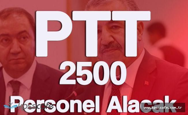 Son Dakika Açıklaması! PTT 2 Bin 500 Personel Alacak!