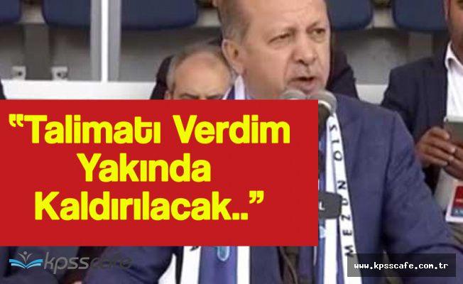 """Cumhurbaşkanı Erdoğan :"""" 'Arena' İsimleri Stadlardan Kalkacak"""""""
