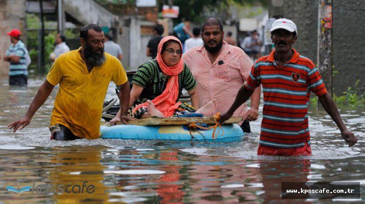 Sri Lanka Yasta! Sel ve Toprak Kayması Felaketinde 91 Ölü, 110 Kayıp
