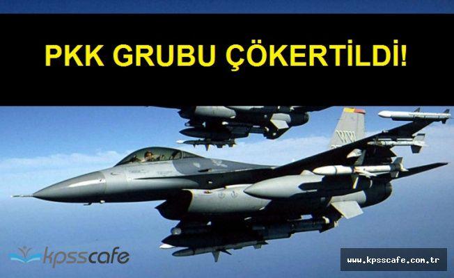 Van'da İHA ve F16'lı Operasyon ile PKK Grubu Etkisiz Hale Getirildi