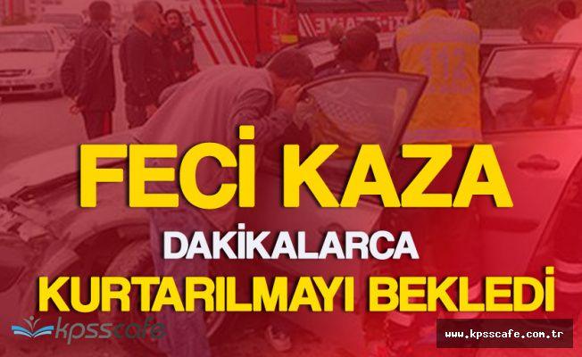 İstanbul Kadıköy'de Korkutan Kaza ! 3 Yaralı