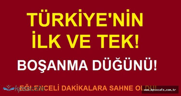 Türkiye'de Bir İlk! Boşanma Düğünü Yapıp Çılgınlar Gibi Eğlendiler