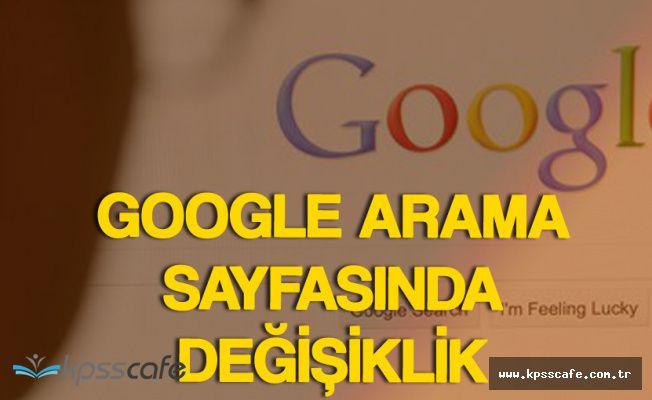 Google Arama Sayfasında Değişikliğe Gitti! Kişisel Arama Fonksiyonu Arttı!