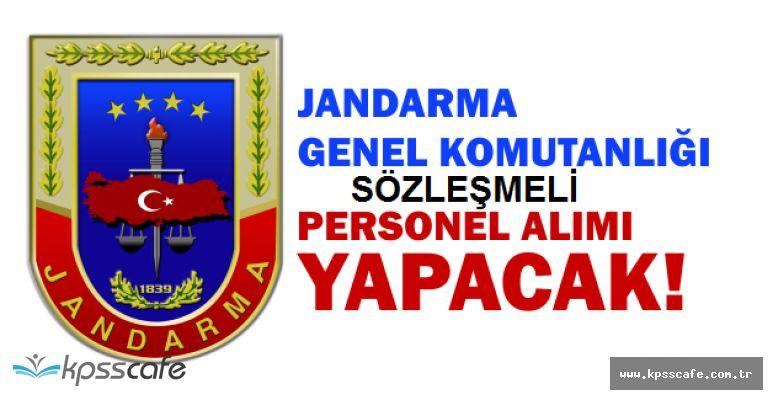 Jandarma Genel Komutanlığı Lise Mezunu Sözleşmeli Personel Alımı Yapacak!Başvuru Şartları ve Kılavuz