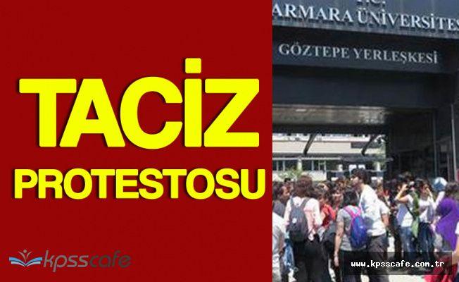 Marmara Üniversitesi'nde Taciz Protestosu!
