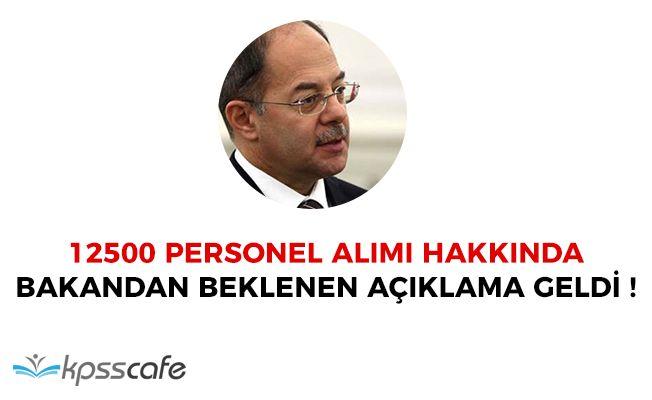 Sağlık Bakanı Recep Akdağ'dan 12500 Personel Alımı Hakkında Beklenen Açıklama Geldi!