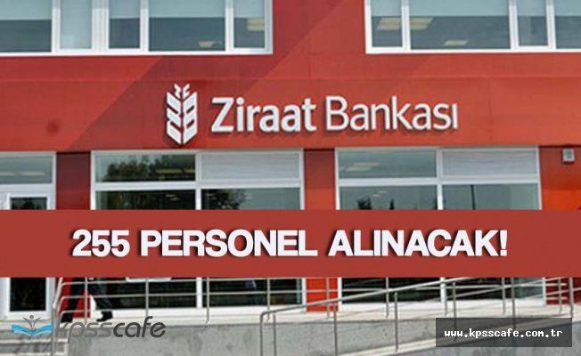 Ziraat Bankası 255 Personel Alımı Yapacak! Başvurular Sürüyor