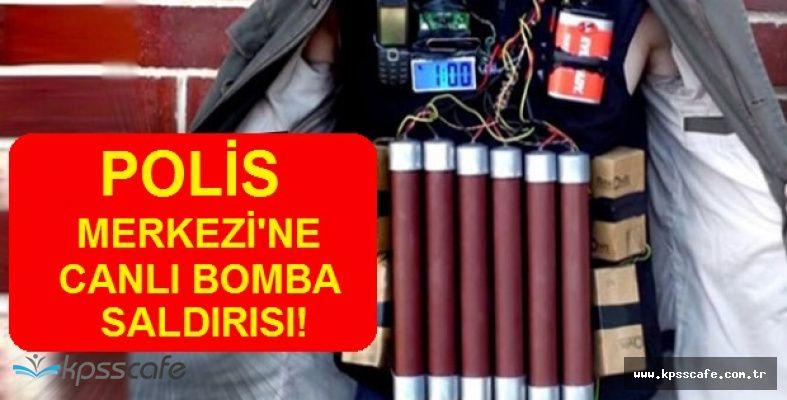 SON DAKİKA! Polis Merkezine Silahlı Canlı Bomba Saldırısı