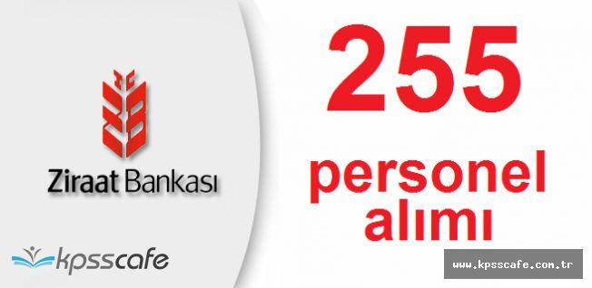 Ziraat Bankası Resmi Kariyer Sitesinden 255 Personel Alıyor! Başvurular Sürüyor