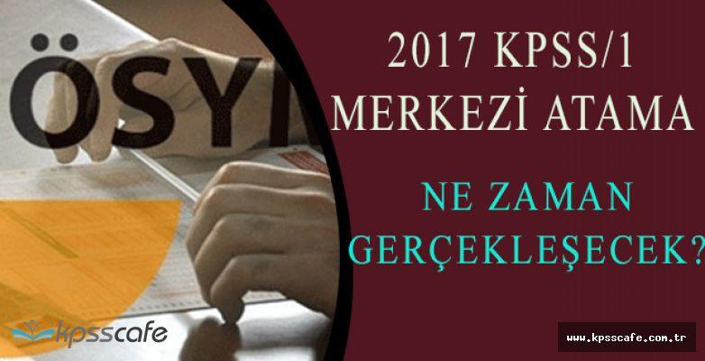 2017/1 KPSS Merkezi Memur Alımı Atama Kadrolarına İlişkin Duyuru Ne zaman Yapılacak?