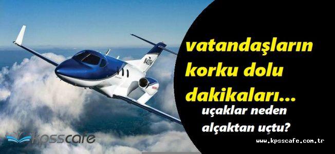 Amasya'da Alçaktan Uçan Jetler Vatandaşa Korkulu Dakikalar Yaşattı