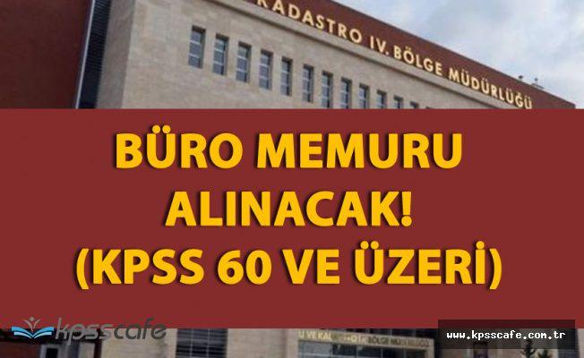 Çevre ve Şehircilik Bakanlığı (KPSS En Az 60) 487 Büro Memuru Alımı Yapacak