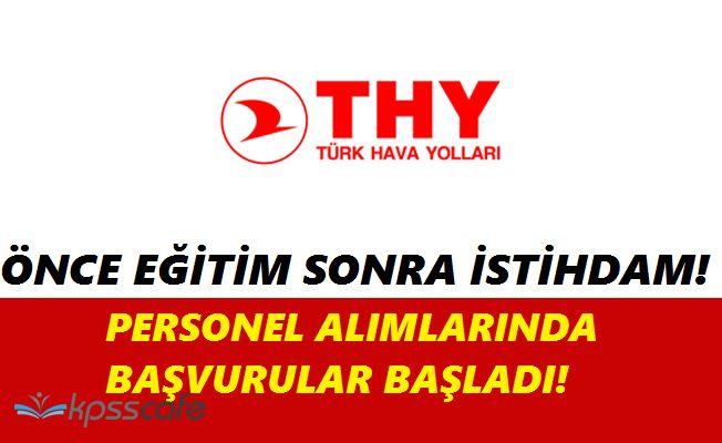 Türk Hava Yolları THY Personel Alımında Bulunacak(Eğitim - İstihdam Programı)