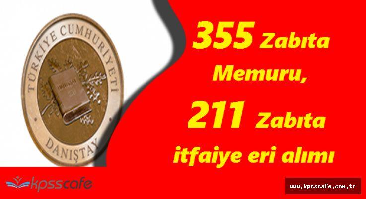 KPSS 2017/1 ile Kamu Kurumlarına 355 Zabıta Memuru ve 211 Zabıta İtfaiye Eri Alımları Sona Eriyor