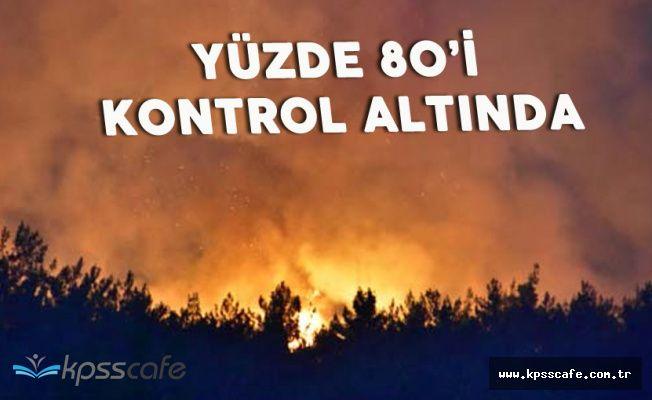 İzmir Menderes'teki Yangınla İlgili Açıklama Geldi