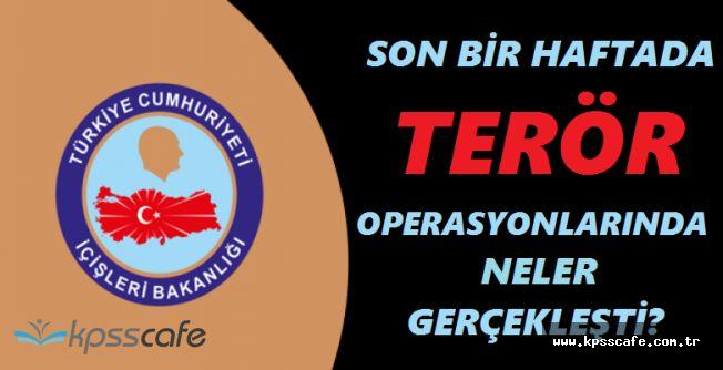 Bir Haftada 774 Operasyon Yapıldı, 70 Terörist Öldürüldü, Binlerce Kişi Gözaltına Alındı
